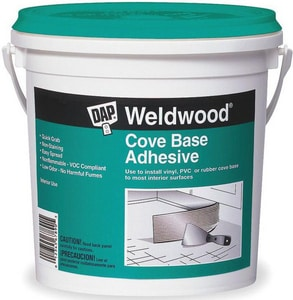 DAP Weldwood® 1 gal Cove Base Adhesive D2505