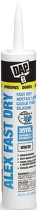DAP Alex Fast Dry® 10.1 oz. Acrylic Latex Silicone Plus Caulk D18425