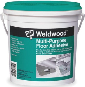 DAP Weldwood® Multi-Purpose Floor Adhesive in Off White D0014