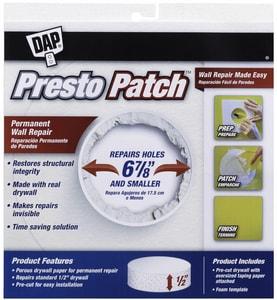 DAP Presto Patch® 6-7/8 in. Wall Repair Patch D09157