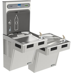 Elkay EzH2O® 8 gph Non-Filtered Bottle Filling Station with Bilevel Water Cooler EEMABFTL8WS