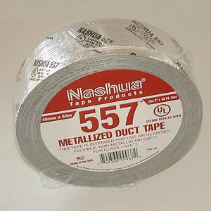 Covalence Specialty Adhesives Nashua® 2 in. Silver Cloth Duct Tape C5570020008A