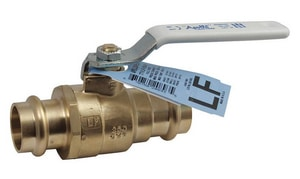 Apollo Conbraco 77VLF Series Press Full Port Brass Ball Valve A77VLF1401