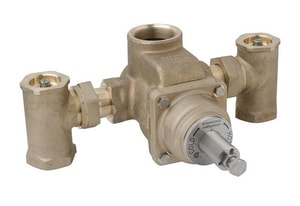 Symmons Industries TempControl® FNPT Thermostatic Mixing Valve in Bronze SYM71000