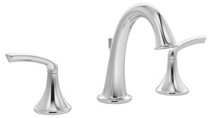 Symmons Industries Elm™ 1.5 gpm 3-Hole Widespread Lavatory Faucet with Double Lever Handle SYMSLW551215