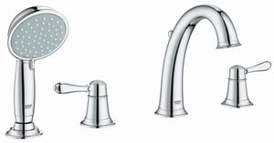 Grohe Fairborn 4-Hole Roman Tub with Hand Shower G25162