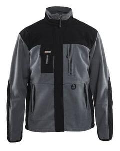 Blaklader M Size Fleece Jacket B485525209499M at Pollardwater