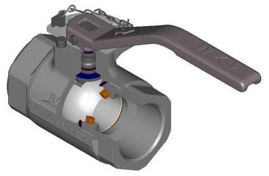 WKM 1500# Threaded Ductile Iron Standard Port Nace Left Hand Ball Valve WJ0243132201