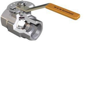 WKM 1/2 in. 5000 psi Threaded Standard Port Ball Valve WB136S823S2WRD