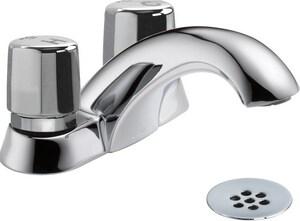 Delta Faucet 0.5 gpm Double Knob Handle Lavatory Faucet D2517LFHDF
