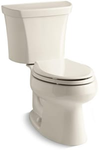 Kohler Wellworth® 1.6 gpf Elongated Two Piece Toilet K3988-RA