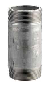 Merit Brass 1-1/4 in. Threaded Schedule 40 316L Stainless Steel Nipple DS46SNH
