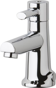 Chicago Faucet Hot and Cold Mixing Sink Faucet in Polished Chrome C3511E2805AB