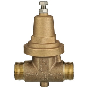 Wilkins Regulator Double Male Threaded Pressure Reducing Valve W70XLDMSC