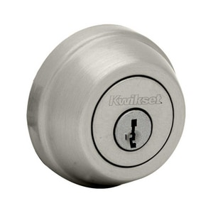 Signature Series 2-1/2 in. Single Cylinder Round Corner Deadbolt K780RFALRCS