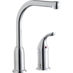Elkay 2-Hole Kitchen Faucet with Single Lever Handle and Fixed Spout ELKF4121RS