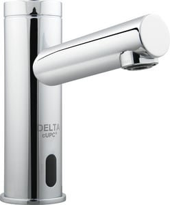 Delta Faucet HDF® Single Knob Handle Electronic Lavatory Faucet with Mixer DDEMD311LF