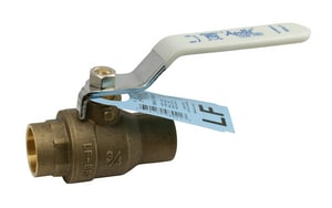 Apollo Conbraco 600# Brass Sweat Full Port Ball Valve with Stop and Waste A95ALF2001