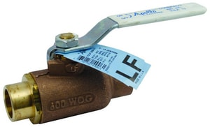 Apollo Conbraco 70LF-200 Series Bronze Standard Port Solder 600# Ball Valve A70LF2410