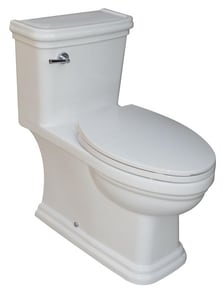 Rohl 1.28 gpf Elongated Toilet RFE2356