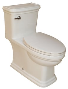 Rohl 1.28 gpf Elongated One Piece Toilet RFE2356BS