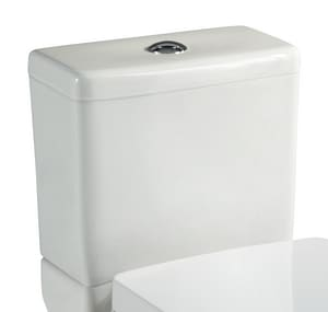 Mirabelle Vilamonte® 1.28 gpf High Efficiency Floor Mount Toilet Tank MIRVL200WH