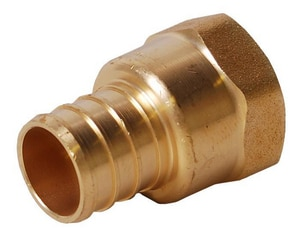 Legend Valve & Fitting PEX x FNPT Forged Brass Adapter L460