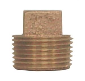 Legend Valve & Fitting Threaded Bronze Square Head Plug L3101NL