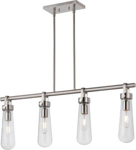 Nuvo Lighting Beaker 4 Light 60W 36 in. Pendant N605265