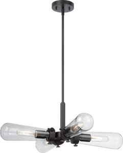 Nuvo Lighting Beaker 48 in. 60W 4-Light Hanging Light Fixture N605364