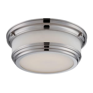 Nuvo Lighting Dawson 20W 1-Light Flushmount LED Ceiling Light NUV62324