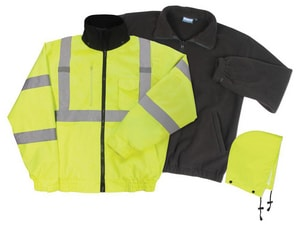 ERB Safety High-Visibility Bomber Jacket E62101