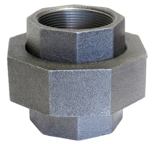 Anvil Ground Joint 250# Iron and Brass Galvanized Malleable Union GLF250U