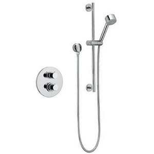 Fortis Milano Shower Faucet Trim with Double Knob Handle F78KIT02