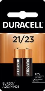 Duracell 12V 21/23 Alkaline Battery DMN21B2PK