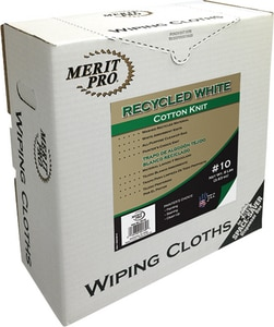 MG Distribution Recycled Cotton Knit Cloth Box in White M7402SS10MP