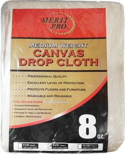MG Distribution 12 ft. Canvas Drop Cloth M02020 at Pollardwater
