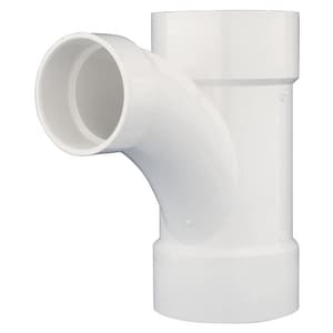 Charlotte Pipe & Foundry 16 x 16 x 10 in. Hub Reducing and DWV Fabricated PVC Combination Wye PDWVFHCOMB1610