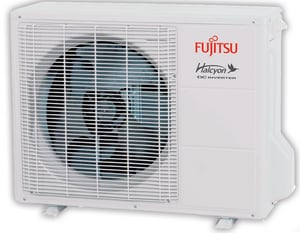 Fujitsu Halcyon™ HFI Single-Zone Floor Mount Outdoor Mini-Split Heat Pump FAOURLFF