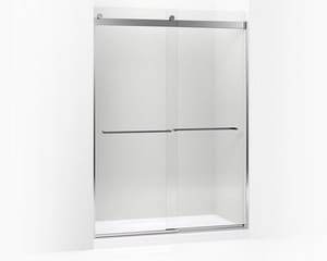 Kohler Levity™ Front Sliding Glass Panel and Assembly Kit for Shower Door in Bright Polished Silver K706229-L-SHP