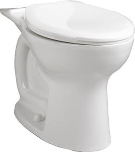 American Standard Cadet® 1.1-1.6 gpf Elongated Toilet Bowl with EverClean Surface, POwerWash Rim and Right Height Bowl A3517F101