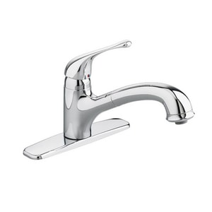 American Standard Colony® Soft Single Lever Handle Pull-Out Kitchen Faucet A4175100F15