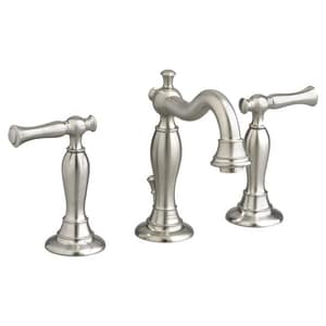 American Standard Quentin™ Widespread Lavatory Faucet with Double Lever Handle A7440851