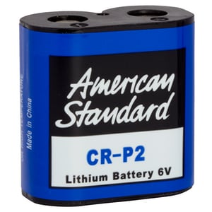 American Standard 6V Lithium-Ion Faucet Battery for American Standard Electronic Lavatory Faucets AA9236540070A