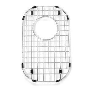 American Standard Prevoir™ 8-1/2 x 14-1/4 in. Stainless Steel Bottom Grid Sink Rack A8445081400075