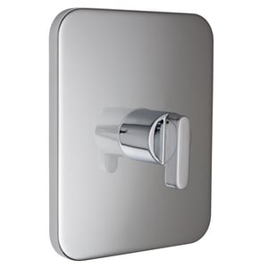 American Standard Moments™ Single Lever Handle Thermostatic Valve Trim in Polished Chrome AT506730002