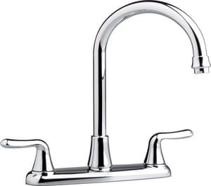 American Standard Colony® Soft 3-Hole Kitchen Faucet with Double Lever Handle A4275550F15