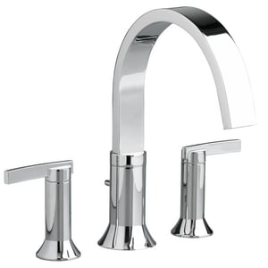 American Standard Berwick® 2.5 gpm Widespread Tub Filler with Double Lever Handle A7430900