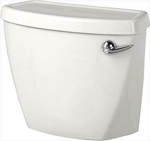 American Standard Baby Devoro™ 1.28 gpf Toilet Tank in White with Right-Hand Trip Lever A4019828020