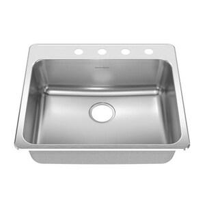 American Standard Prevoir™ 1-Bowl Drop-In Kitchen Sink A15SB252284073